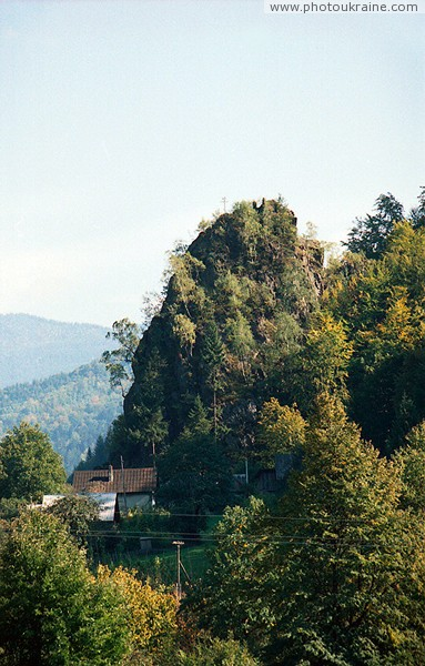 Kostylivka. Lovers rock (view from north) Zakarpattia Region Ukraine photos