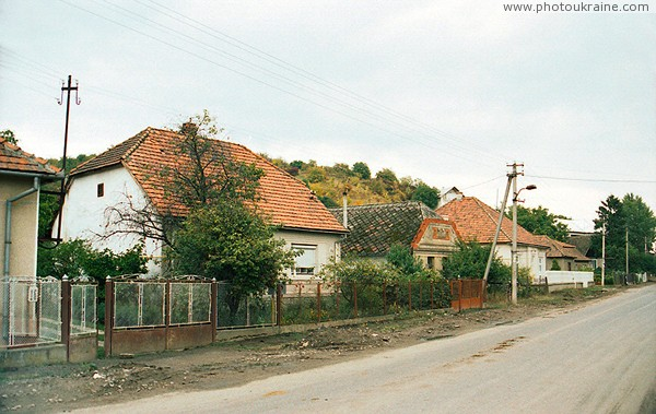 Bene. Mansions of Hungarian village Zakarpattia Region Ukraine photos
