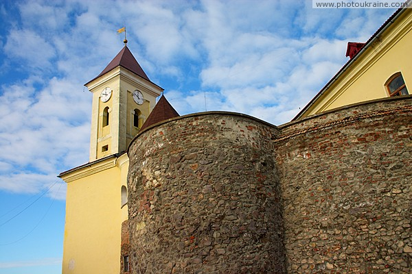 Mukacheve. Impregnable Upper Castle Zakarpattia Region Ukraine photos