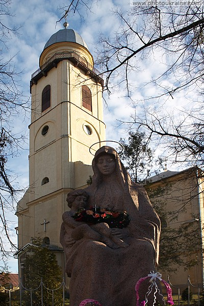 Mukacheve. Church of Assumption of Virgin Mary Zakarpattia Region Ukraine photos