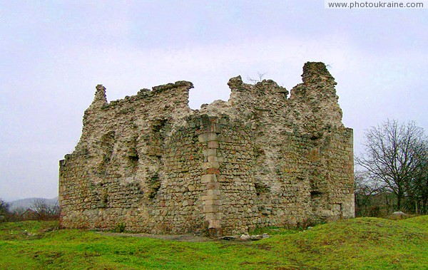 Seredne. Castle ruins Zakarpattia Region Ukraine photos