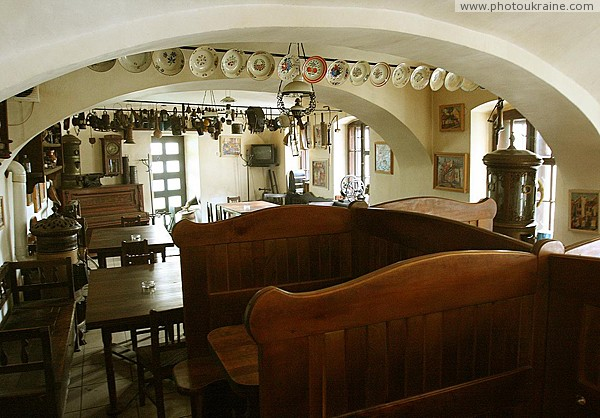 Uzhgorod. Stylish furniture restaurant Zakarpattia Region Ukraine photos