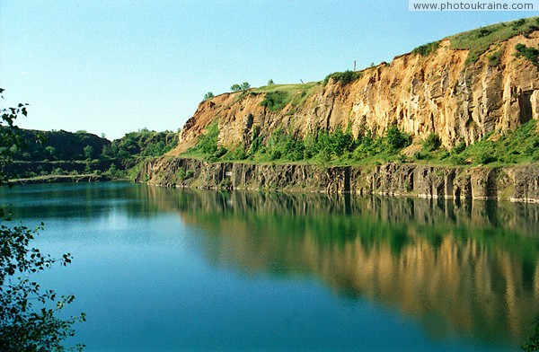 Uzhgorod. Radvanka basalt quarry Zakarpattia Region Ukraine photos