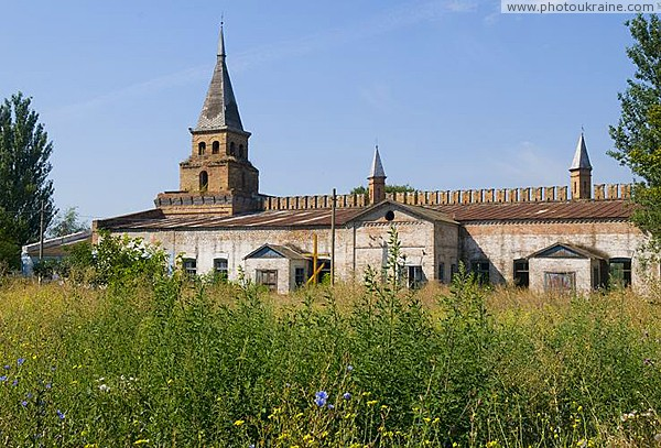 Vasylivka. Tower nestled church of Intercession Zaporizhzhia Region Ukraine photos