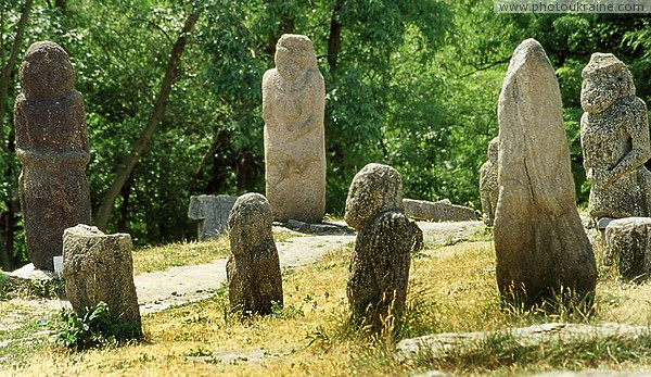 Zaporizhzhia. Silent statues of past Zaporizhzhia Region Ukraine photos