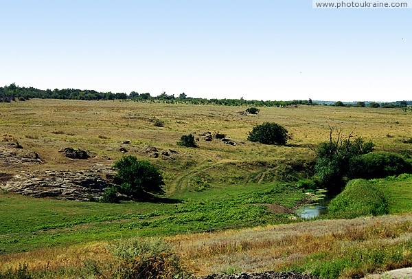 Kalaytanivka. Upper reaches of river Berda Zaporizhzhia Region Ukraine photos