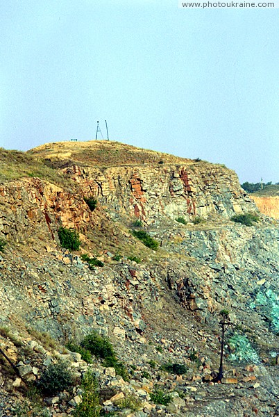 Trudove. Belmak-Grave – highest point of Azov Zaporizhzhia Region Ukraine photos
