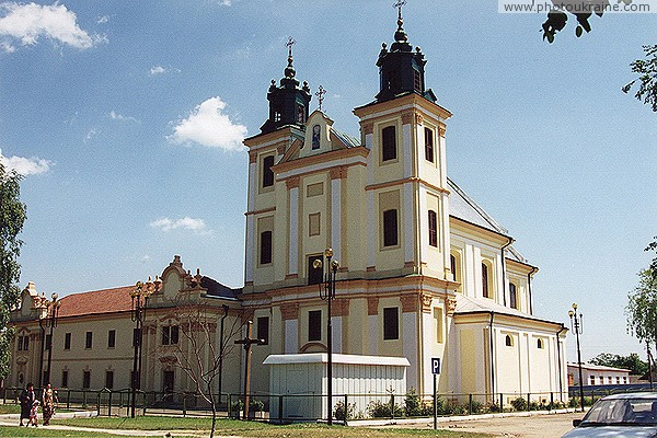 Bogorodchany. Church of the former Dominican Monastery Ivano-Frankivsk Region Ukraine photos