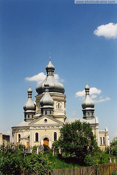 Bodnariv. Church Introduction to the Temple of the Blessed Virgin Ivano-Frankivsk Region Ukraine photos