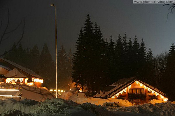 Bukovel. Among the resort sights Ivano-Frankivsk Region Ukraine photos