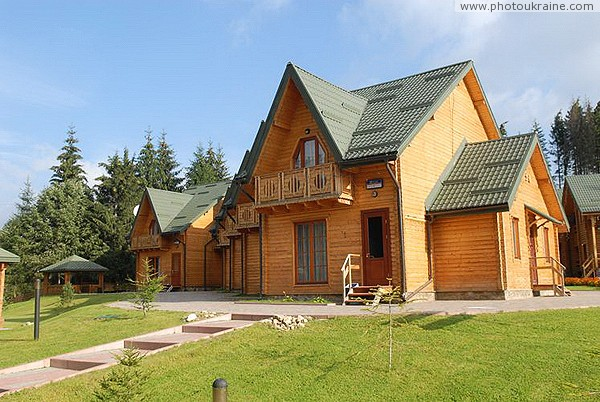 Bukovel. Cottage resort necklace Ivano-Frankivsk Region Ukraine photos