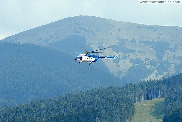 Bukovel. An air taxi Ivano-Frankivsk Region Ukraine photos