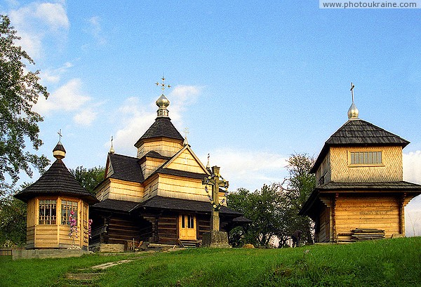 Vorokhta. The ensemble of the Church of Peter and Paul Ivano-Frankivsk Region Ukraine photos