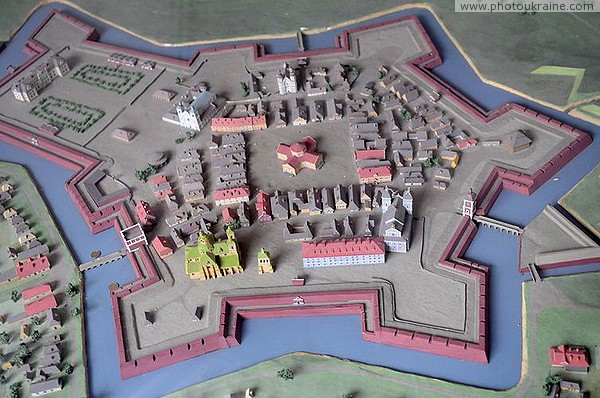 Ivano-Frankivsk. Model of the Stanislavsky fortress Ivano-Frankivsk Region Ukraine photos