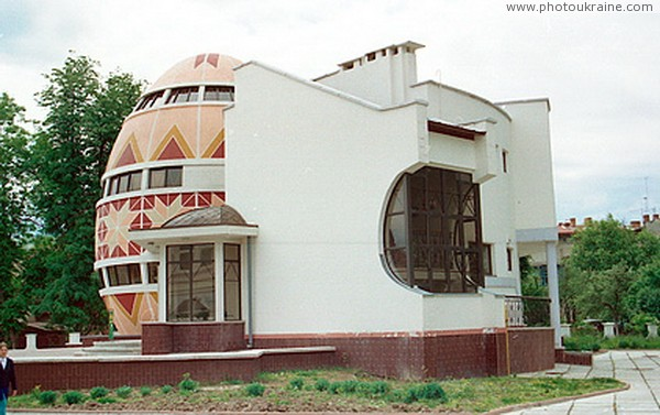 Kolomyia. Rear facade of the building of the Museum of Easter Eggs Ivano-Frankivsk Region Ukraine photos