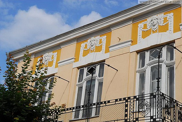 Kolomyia. Urban building decorations Ivano-Frankivsk Region Ukraine photos