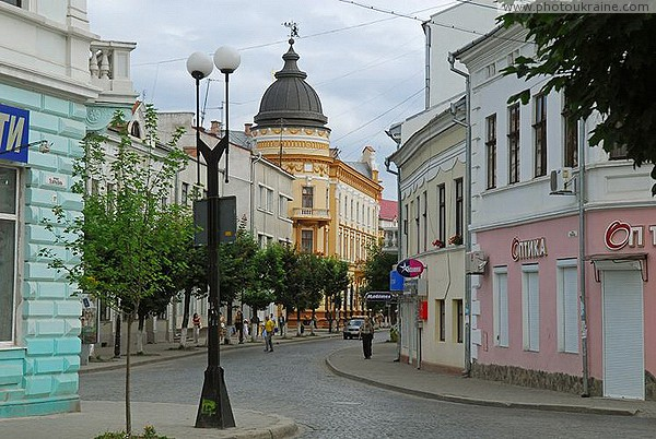 Kolomyia. On Theater Street Ivano-Frankivsk Region Ukraine photos