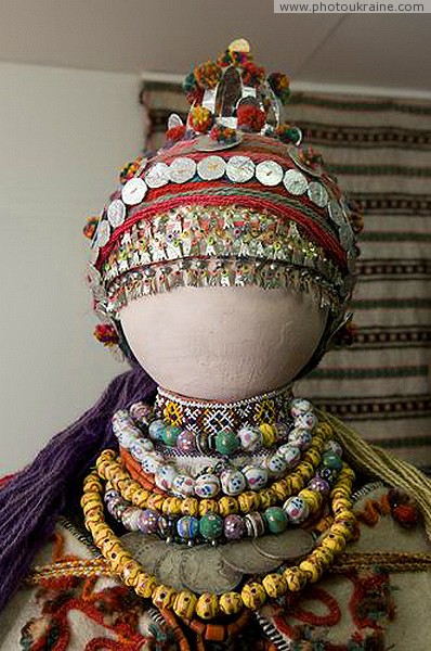 Kolomyia. Hutsul and Pokuttia Museum - women's jewelry Ivano-Frankivsk Region Ukraine photos