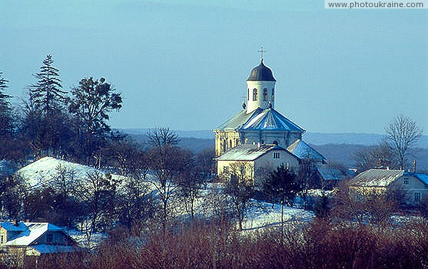 Krylos. Assumption Church (eastern facade) Ivano-Frankivsk Region Ukraine photos
