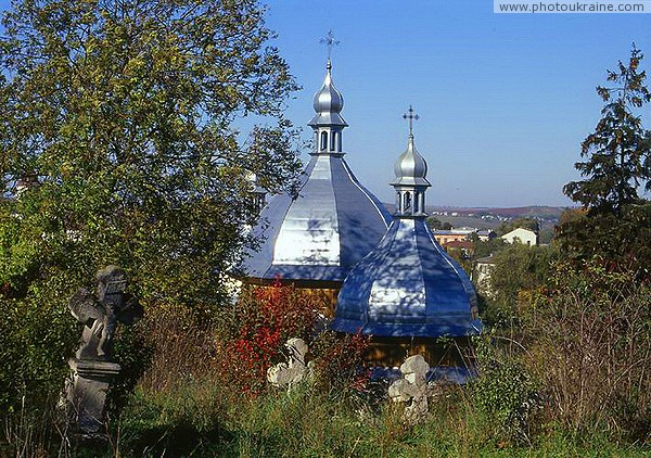 Rohatyn. The wooden church of St. Nicholas Ivano-Frankivsk Region Ukraine photos