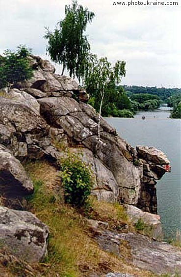 Chatskyi rock Zhytomyr Region Ukraine photos