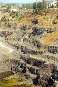Coal quarry, Donetsk Region, Geological sightseeing