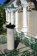 Yevpatoria. Sun clock in yard of Karaim kenasa, Autonomous Republic of Crimea, Churches