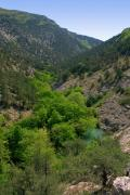 Chernorechenskiy (Black river) Canyon, Autonomous Republic of Crimea, Geological sightseeing