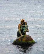 Miskhor. The sculpture Mermaid, Autonomous Republic of Crimea, Monuments