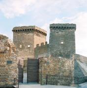 Sudak. Strengthening of fortress gates, Autonomous Republic of Crimea, Fortesses & Castles
