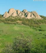 Karadag Nature Reserve. Ridge Balali-Kaya, Autonomous Republic of Crimea, Natural Reserves