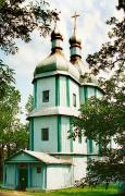 Markivka. Assumption wooden church, Vinnytsia Region, Churches
