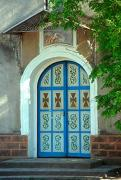 Tulchyn. Entrance gates of Assumption church, Vinnytsia Region, Churches