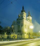 Vinnytsia. Street Cathedral and Cathedral church, Vinnytsia Region, Churches