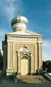 Berestechko. Portico of Egor Church, Volyn Region, Churches