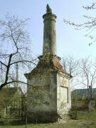 Holoby. Column – all that remained of front gate of manor, Volyn Region, Country Estates