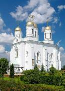 Zymne. White Assumption cathedral, Volyn Region, Monasteries