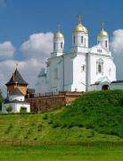 Zymne. Trinity church – first temple of Svyatogorsky monastery , Volyn Region, Monasteries