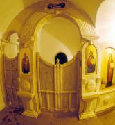Zymne. Entrance to cave, which began with monastery, Volyn Region, Monasteries