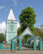 Lyuboml. Gates at church area, Volyn Region, Churches