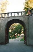 Olyka. Outside castle gates Radzivil, Volyn Region, Fortesses & Castles