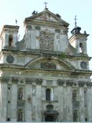 Olyka. Front facade of Trinity church, Volyn Region, Churches