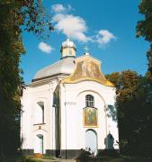 Olyka. Front facade of Sretenskaya church, Volyn Region, Churches