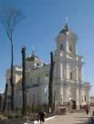Lutsk. Alley to Trinity cathedral, Volyn Region, Churches