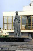 Lutsk. Monument to L. Ukrainka, Volyn Region, Monuments