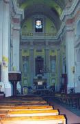 Lutsk. Modest interior of Peter and Paul church, Volyn Region, Churches