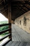Lutsk. Lutsk castle, a wooden gallery, Volyn Region, Fortesses & Castles