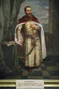 Lutsk. Lutsk castle, portrait of S. Zholkevskyi, Volyn Region, Museums