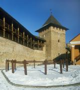 Lutsk. Lutsk castle, stone gallery is Vladycha tower, Volyn Region, Fortesses & Castles