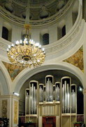 Dnipropetrovsk. Interior of Organ Music Hall, Dnipropetrovsk Region, Churches